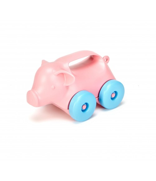 Green Toys Pig-on-Wheels